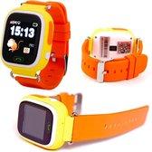 Wonlex - GPS horloge kind - smartwatch kinderen - GPS tracker kind - Oranje incl. SIM