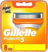 Gillette Fusion - scheermesjes - 8 stuks