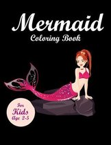 Mermaid Coloring Book for kids Ages 2-5
