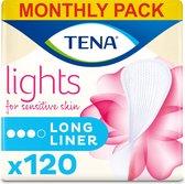 lights by TENA Long Liner 120 inlegkruisjes