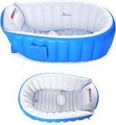 Intime Plastic®   Baby bad   Baby badje   Kinderbad   Peuterbad   Zitbad   Baby spa   Opblaasbaar   Opvouwbaar   Anti slip   Blauw  