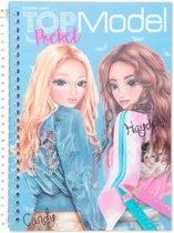 Top Model Kleurboek Pocket Candy 3d Junior 17,5 X 13 Cm Papier