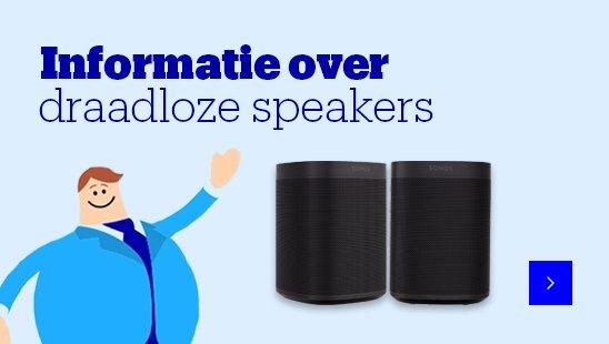 Informatie over draadloze speakers