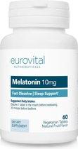 EuroVital Melatonine 60 tabletten met aardbeiensmaak