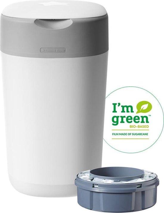 Product: Tommee Tippee Milieuvriendelijke Twist & Click Luieremmer - met 1  Navulcassette - Wit, van het merk Tommee Tippee
