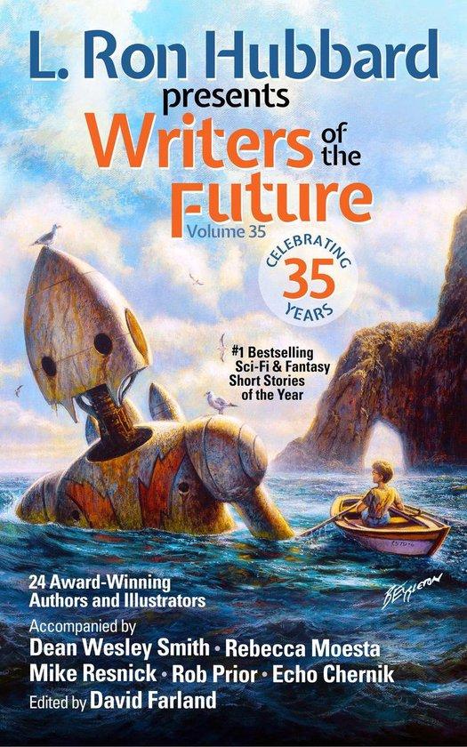Boek cover L. Ron Hubbard Presents Writers of the Future Volume 35 van L. Ron Hubbard (Onbekend)