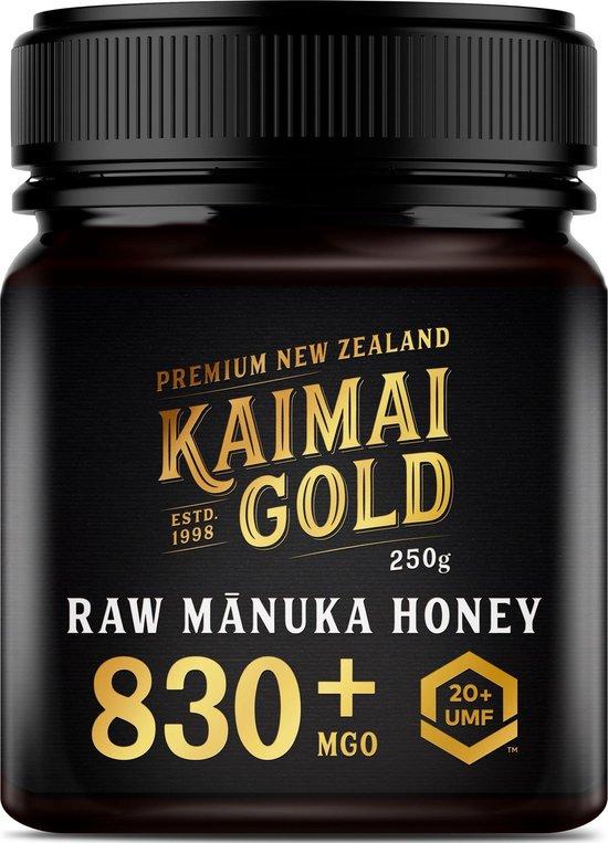 MANUKA HONING (MGO ≥ 829 =) UMF® 20+ 250gr / KAIMAI GOLD