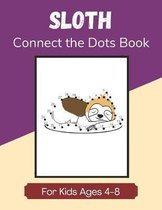 Sloth Connect the Dots Book for Kids Ages 4-8