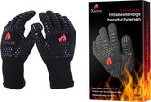 XAMAX® BBQ handschoenen - Ovenwanten - Hittebestendige barbecuehandschoenen tot 500°C - Ovenhandschoenen – 1 paar (2 stuks) - EN407 gecertificeerd