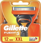 Gillette Fusion5 Scheermesjes voor Mannen - 12 Navulmesjes - XXL Voordeelverpakking
