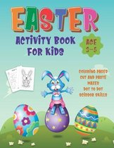 Easter Activity Book For Kids Age 3-5