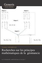 Recherches sur les principes mathematiques de la geomancie