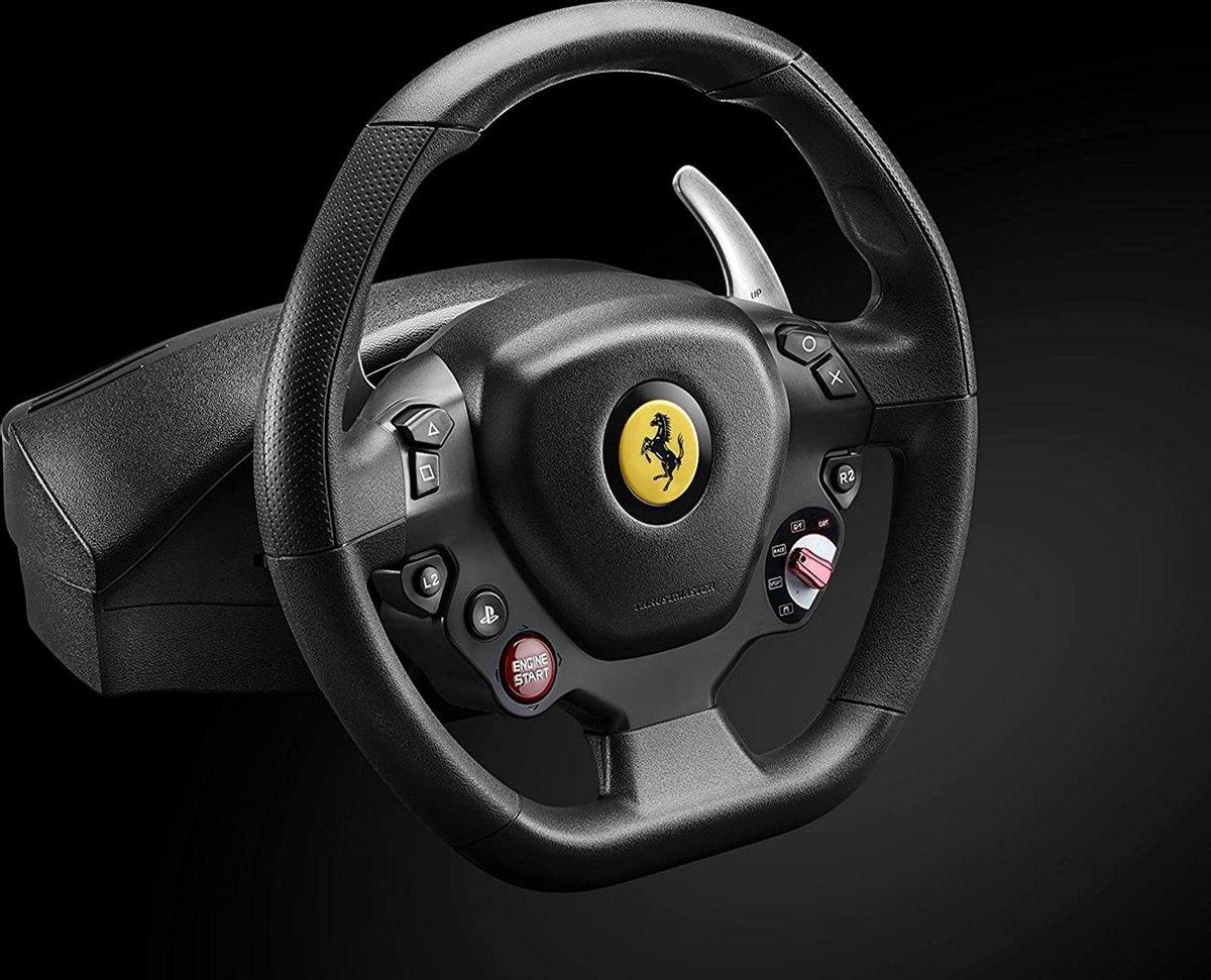 Racestuur - Race simulator - Thrustmaster 262792 T80 Ferrari 488 Gtb-Editie - PS4 - professionele ra