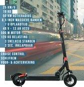 Joyor GS5 Elektrische Step - Zwart - 25 km/u - 19,4 kg - 50 km