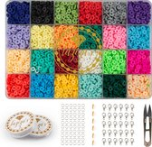 Kralen Set - Katsuki Kralen 4800 stuks - Sieraden Maken Kit - Kralenset -  Zelf Sieraden Maken Kinderen, Meisjes & Volwassenen Pakket - Sieraden Kit