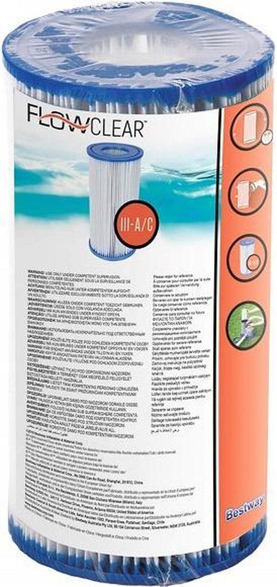 Bestway / Intex - Filterpartroon - Patroon voor zwembadpomp - 5678 Ltr/uur