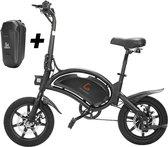Matrix E Bike - Kugoo B2 Pro - Elektrische opvouwbare fiets/step 14 Inch 400W - met trappers - Snelheid max. 45 km/u - Incl. Stuurtasje