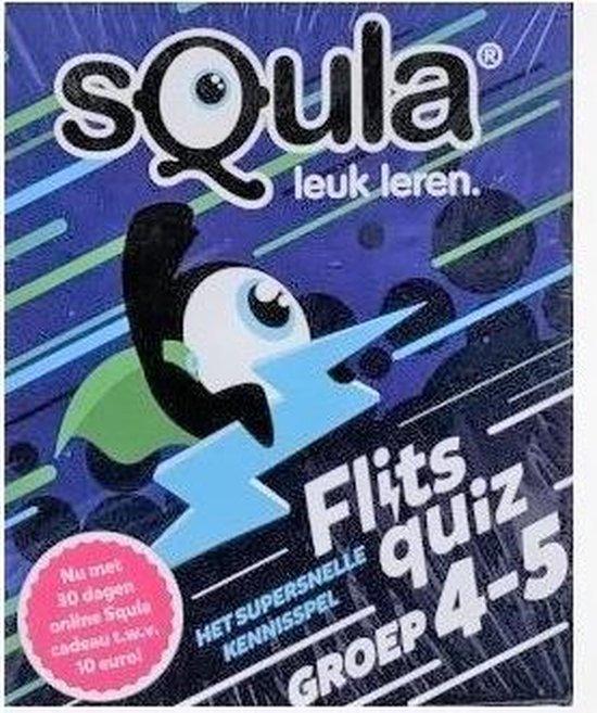 Thumbnail van een extra afbeelding van het spel Squla - Leuke leren - Groep 4-5-6 - Set van  2 -  Van A tot Z -  Reken Maar Uit - Denksport