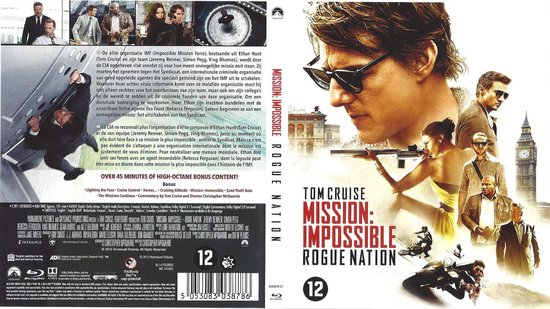 Speelfilm - Mission: Impossible 5 Rogue Nation