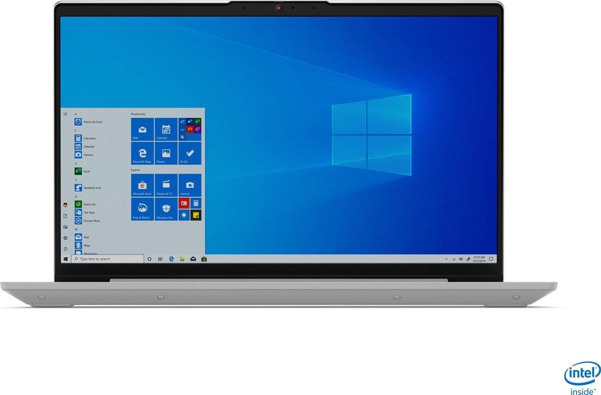 "Lenovo IdeaPad 5 DDR4-SDRAM Notebook 35,6 cm (14"") Intel® 11de generatie Core™ i5 16 GB 512 GB SSD Wi-Fi 6 (802.11ax) Windows 10 Home Grijs, Platina"