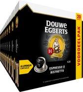 Douwe Egberts Espresso Ristretto Koffiecups - 10 x 20 cups - voordeelpak - 200 koffiecups