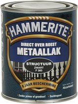 Hammerite - Metaallak - Structuur - Zwart - 750 ml