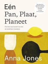 Boek cover Eén Pan, Plaat, Planeet van Anna Jones (Hardcover)