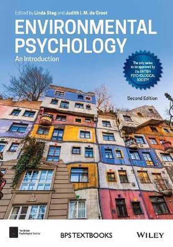 Boek cover Environmental Psychology van Linda Steg (Paperback)