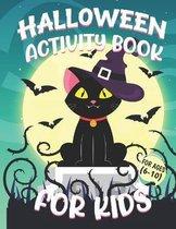 Halloween Activity Books For Kids 6-10