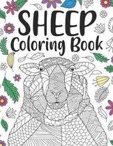 Sheep Coloring Book