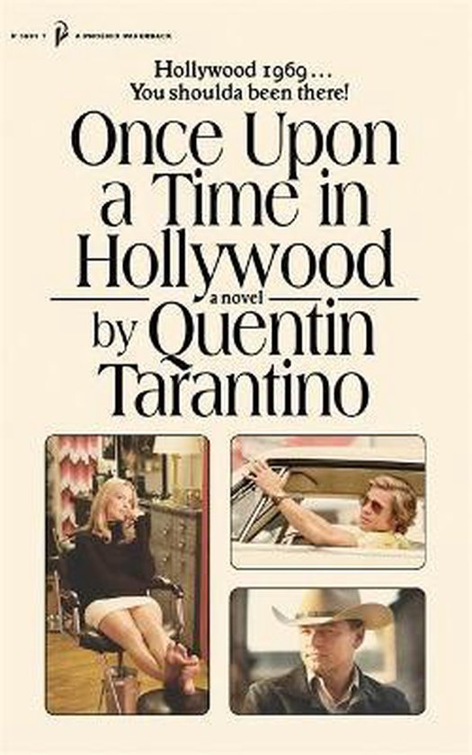 Boek cover Once Upon a Time in Hollywood van Quentin Tarantino (Paperback)