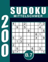 Sudoku Erwachsene Mittelschwer Band 7
