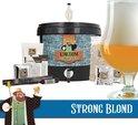 KINGDOM Bierbrouwpakket  - startpakket - Strong Blond - zelf bier brouwen - starterspakket bier brouwen - bier brouwen pakket - brouwen met vrienden - vaderdag - vaderdag cadeautje voor hem - brouwpakket