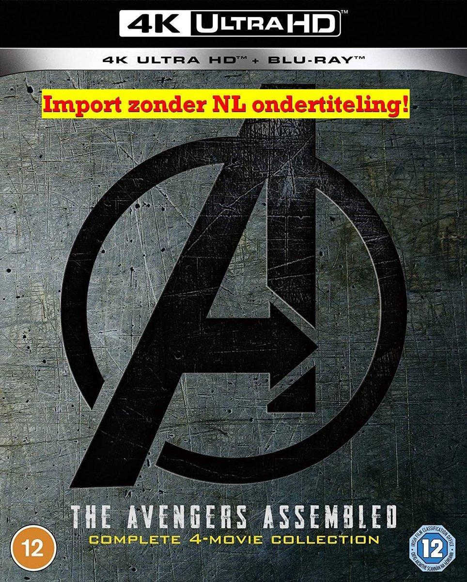 Avengers 1-4 [4K UHD Collection + Blu-ray] [2021]-