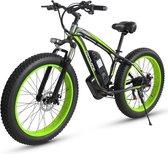 "Matrix E Bike  - SLMRO XD100 -Elektrische Fiets - Elektrische Fatbike - 1000W 26 ""x 4.0 Fat tire Motor 48V 17.5Ah Samsung Batterij - Elektrische Mountainbike - Lithiumbatterij 7 snelheden"