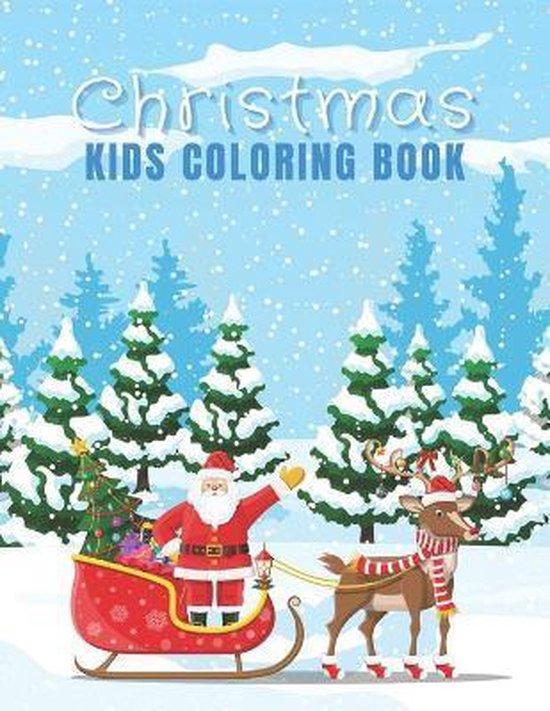 Christmas - Kids Coloring Book