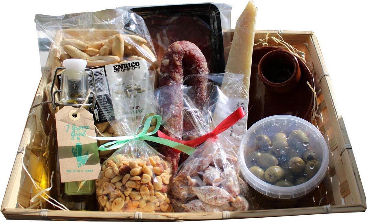 Tapasplank - Cadeau - Geschenkset - Familie - Eten - Vaderdag - BBQ- meester - juf - bedankt