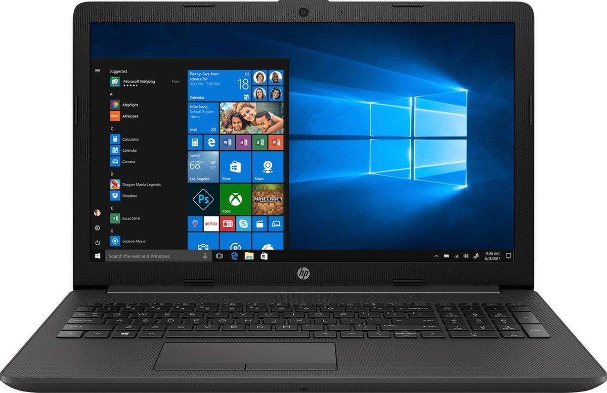 HP 250 G7 - Laptop- 15.6 Inch - i3 1005G1 - 8GB Werkgeheugen - 256GB SSD - Windows 10 Pro