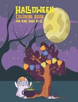 Halloween coloring book for kids ages 8-12
