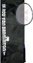 Yonex Astrox 22 badmintonracket - 68 gram - met cover 'Ik hou van badminton' - Mat Zwart