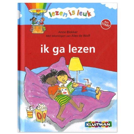 Boek cover Lezen is leuk  -   Ik ga lezen van Anne Blokker (Hardcover)