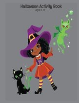 Halloween Activity Book Ages 8-12