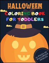 Halloween Coloring Book For Toddlers Ages 2-5