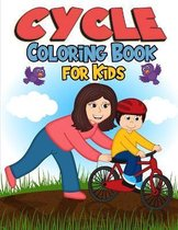 Cycle Coloring Book for Kids