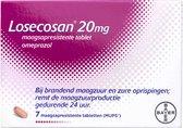 Losecosan bij terugkerend brandend maagzuur