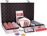 Cartamundi - Texas Hold'em Entry - Pokerset - Aluminium Koffer - 300 chips