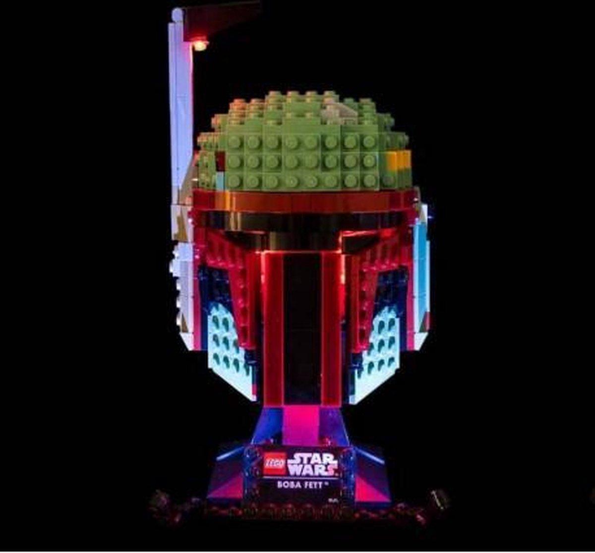 Light My Bricks LEGO Boba Fett Helm 75277 Verlichtings Set