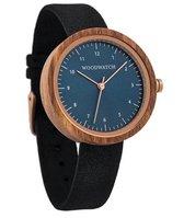 De officiële WoodWatch   Malmo Black   Houten horloge dames