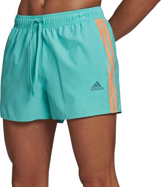 adidas Classic Zwembroek - Mannen - groen - oranje