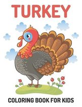 Turkey coloring book for kids